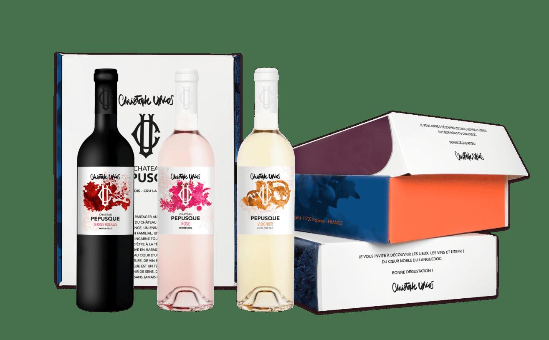 Coffret Gourmand Château Pépusque - Vins du Minervois