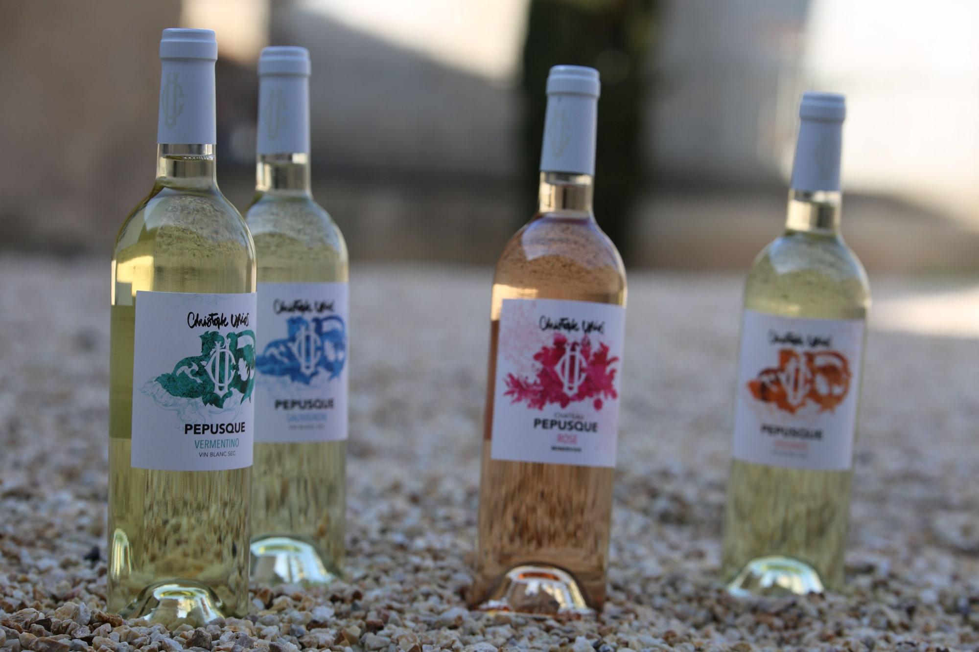 Rosé, Vermentino, Sauvignon, Viognier Château Pépusque - Vins du Minervois