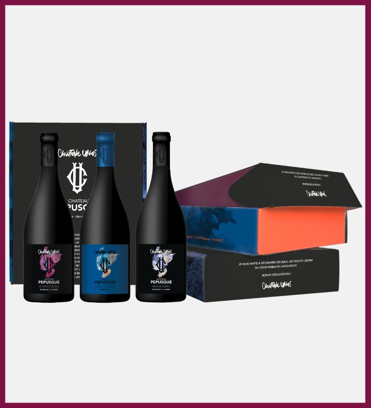 Coffret Terroir Château Pépusque - Vins du Minervois