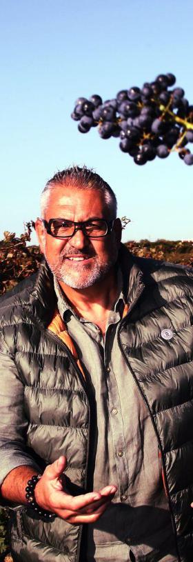 Pépusque part Christophe Urios - Vins du Minervois La Livinière